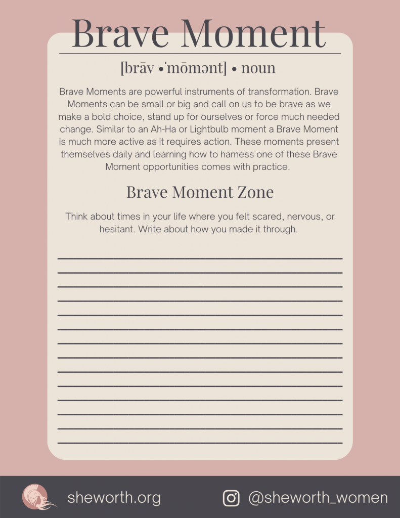 Brave Moments in my life PDF
