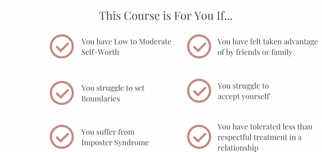 This course if for you if... descriptor